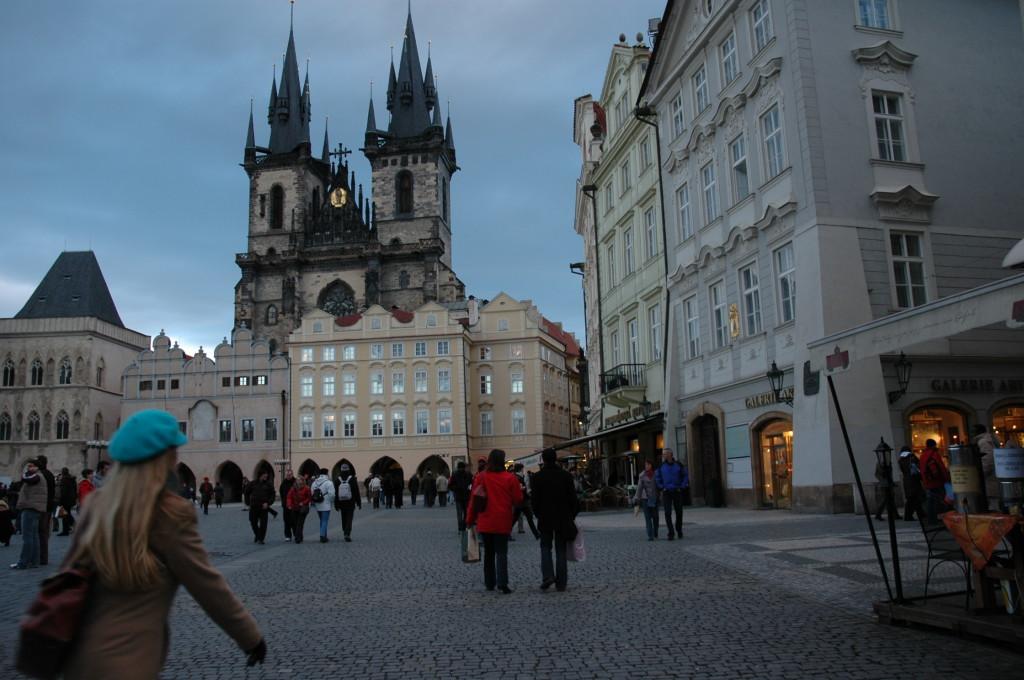 Old town square, Photo Z. Palkova
