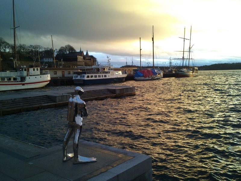 Oslo port, photo O. Hlavacek