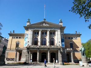 The National Theatre in Oslo