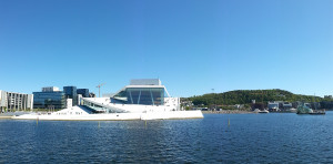 The Norwegian National Opera & Ballet located right at the harbour, Oslol Opera & Ballet, Oslo