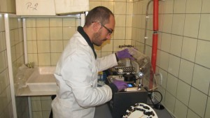 Faculty of Science, FAIRE sample preparation