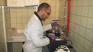 Přírodovědecká fakulta UK, příprava FAIRE vzorků